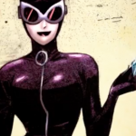 Catwoman coloring (video)